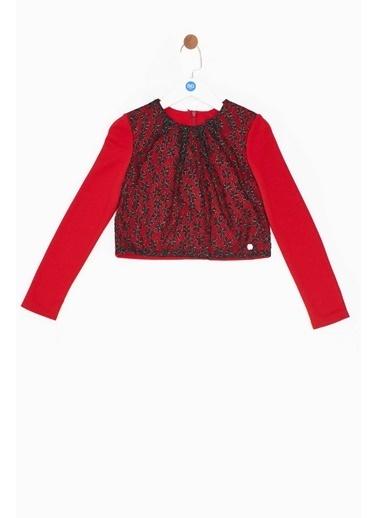 Lia Lea Kız Çocuk Kırmızı Bluz Kırmızı